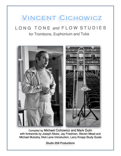Cichowicz - Long Tone and Flow Studies for Trombone, Euphonium and Tuba